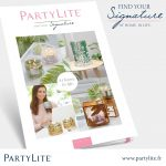 Cartalogue Partylite printemps 2017