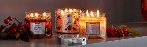 Catalogue de vente de bougies Partylite - Rabais et remises
