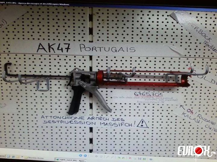 AK-47 portugais : arme de destruction massive au portugal