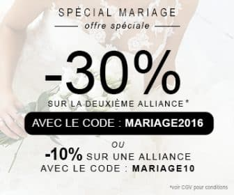 codes de réduction alliances chez la bijouterie ocarat