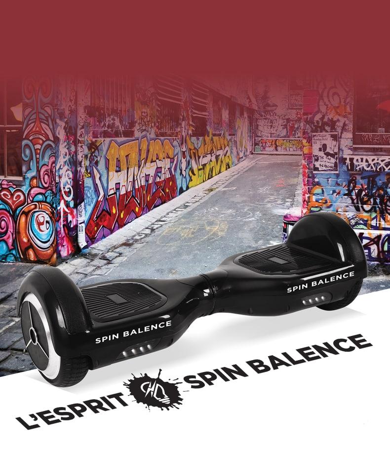 Skate spin balence board
