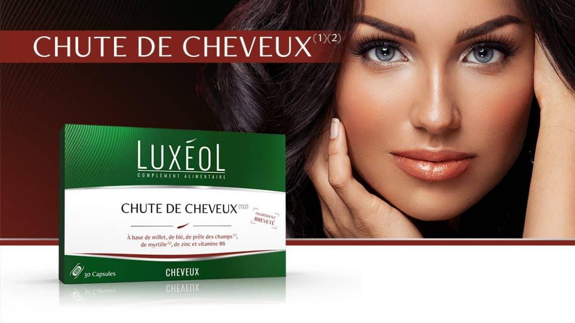 Luxéol Chute de Cheveux, complément alimentaire contre la perte capillaire