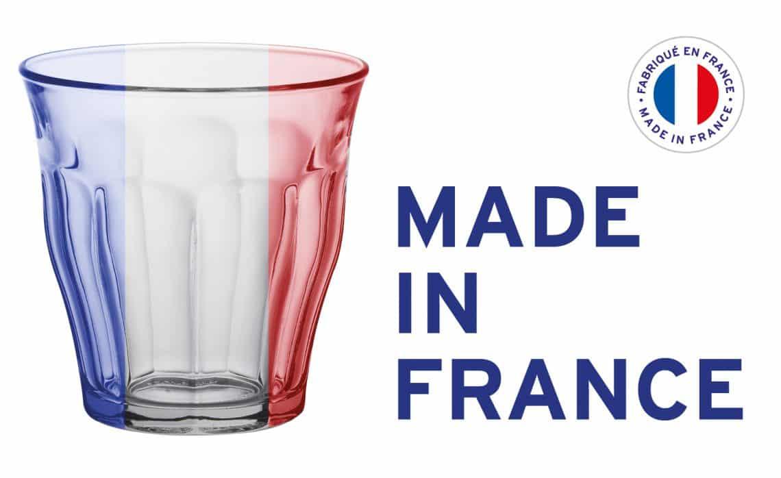 un set de verres Duralex numérotés à 1 euro chez Intermaché
