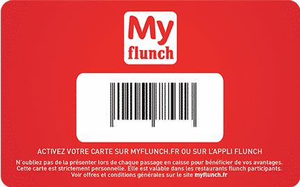 Bouton activation carte fluch sur my flunch fr