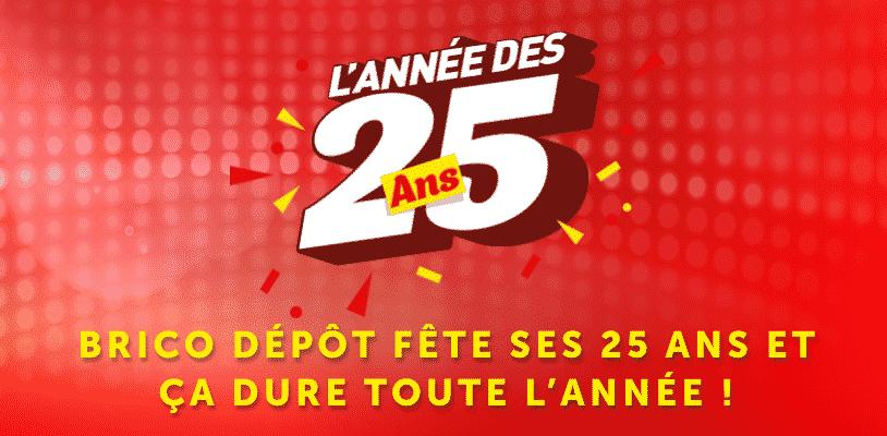 Grand jeu anniversaire 25 ans Brico Dépôt : Jeu de l'Horloge - Grandjeuanniversaire25ans.com