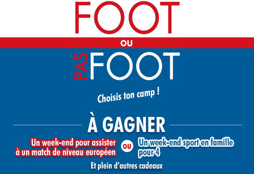 jeu.siropsport.fr : Jeu Sirop Sport Foot ou Pas Foot