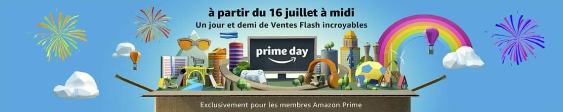 Amazon Prime Day 2018 - 16 juillet 2018 - france