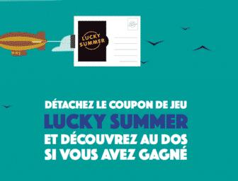 Etape 2 du jeu macdo lucky summer