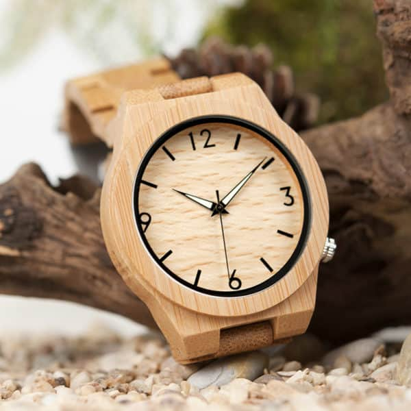 La tendance des montres en bois