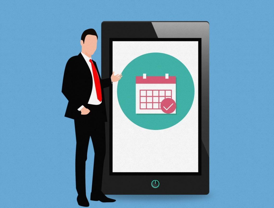 agenda numérique pour mobiles iOS et Android