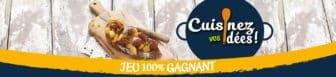 cuisinezvosidees.fr - jeu Le Gaulois - Cuisinez vos idées 2018