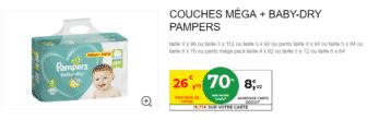 Promo couches sur www.intermarche.com