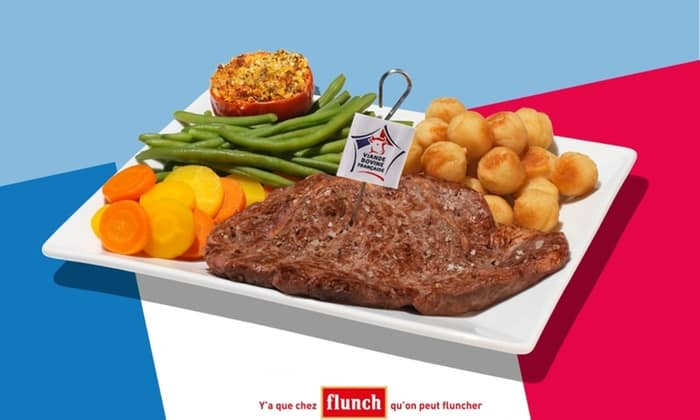 10 euros de réduction chez Flunch - groupon