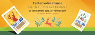 Grand jeu Timbres à gratter - laposte.fr/timbre-a-gratter