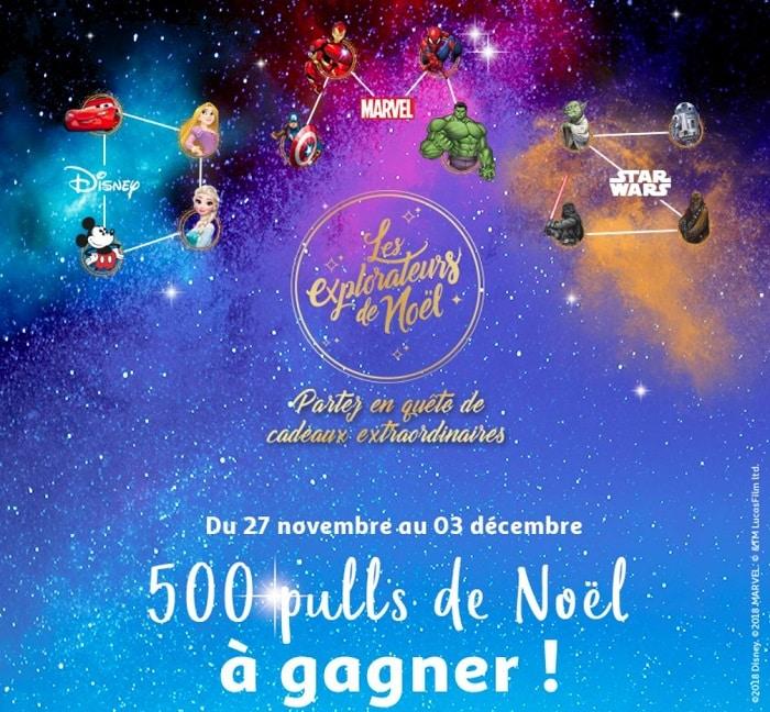 Jeu Pulls de Noël Disney - jeu.auchan.fr