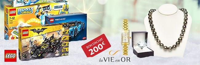 """grand jeu """"La Hotte de Noel"""" - auchan.fr - lego"""