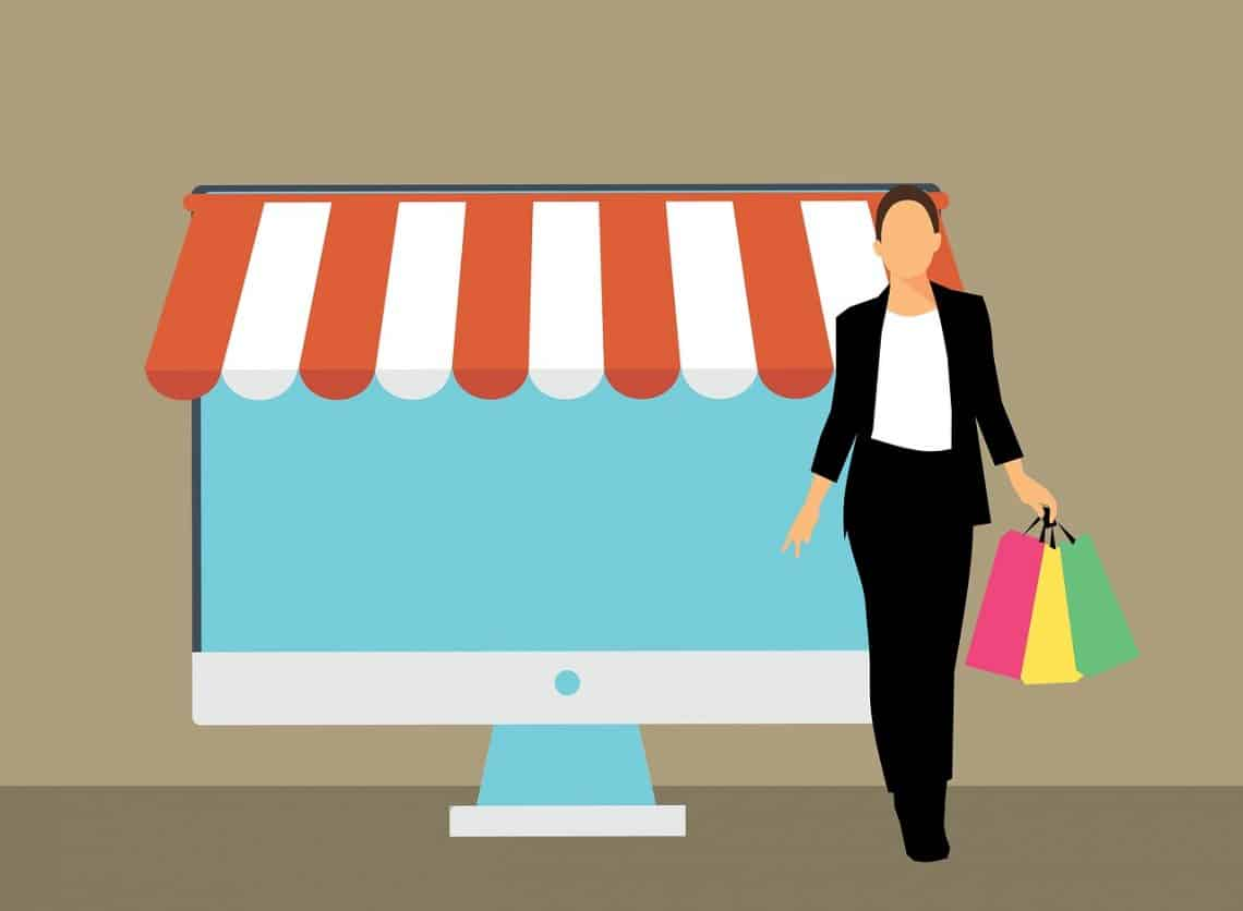 faire son shopping en ligne