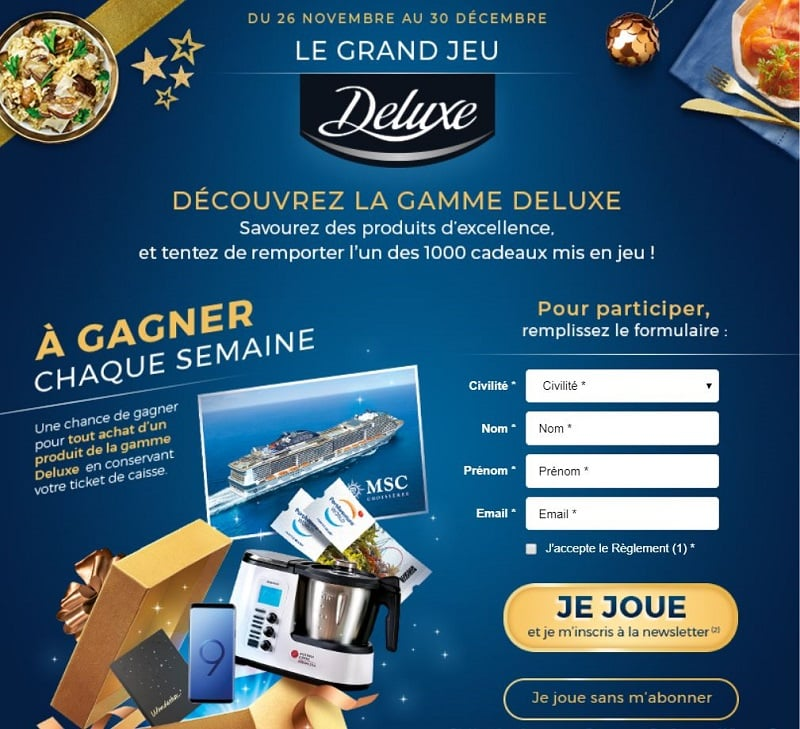 Grand jeu lidle Deluxe - lidl.fr