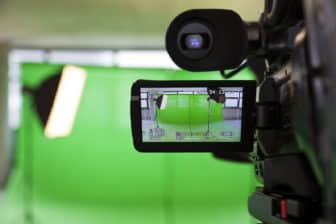 tournage vidéo studio