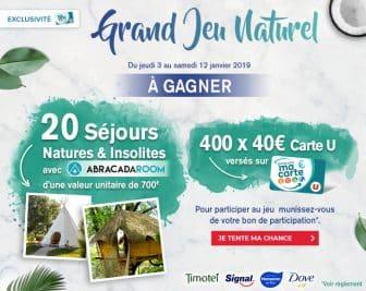 Grand Jeu Naturel Magasins U - magasins-u.com