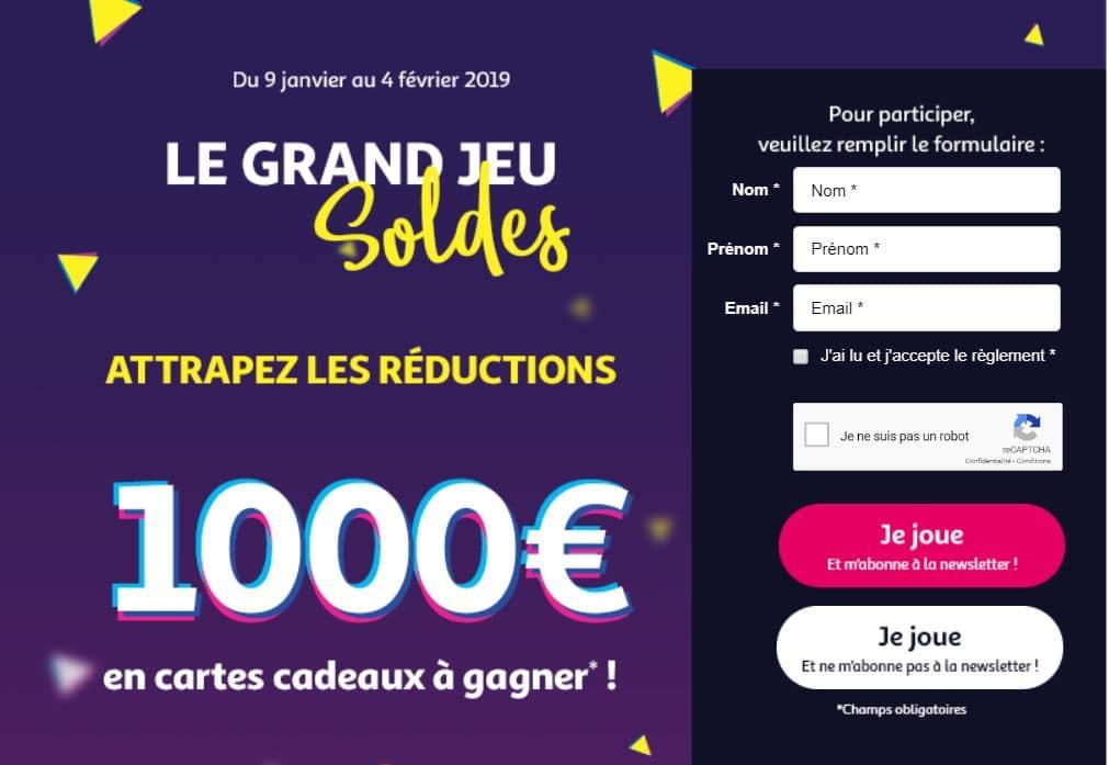 jeu auchan soldes d'hiver - auchan.fr