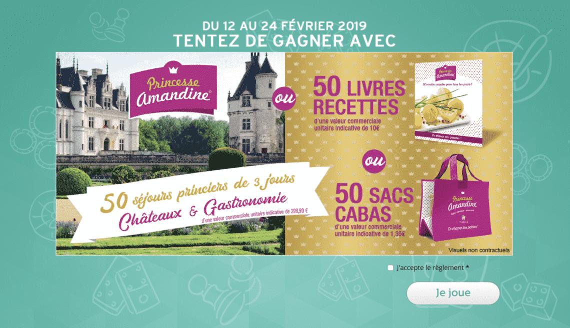 grand jeu Intermarche / Princesse Amandine - grandjeu.intermarche.com