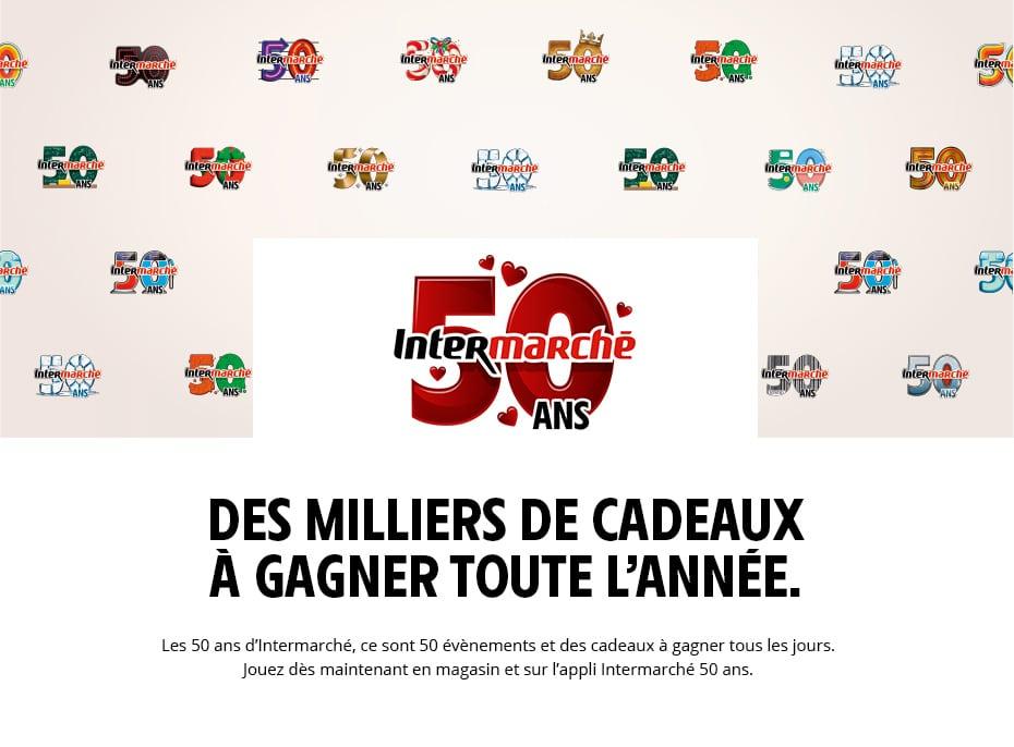 Jeu 50 ans Intermarche - intermarche.com