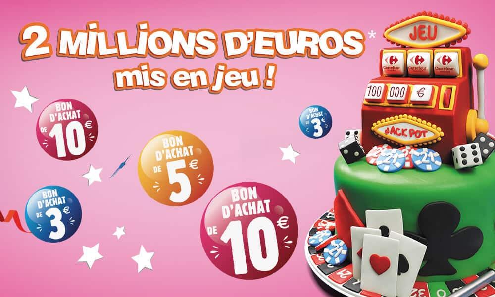jeu Anniversaire Carrefour Market - carrefour.fr