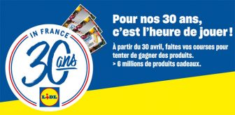 jeu Lidl 2019 L'heure de gouter - lidl.fr