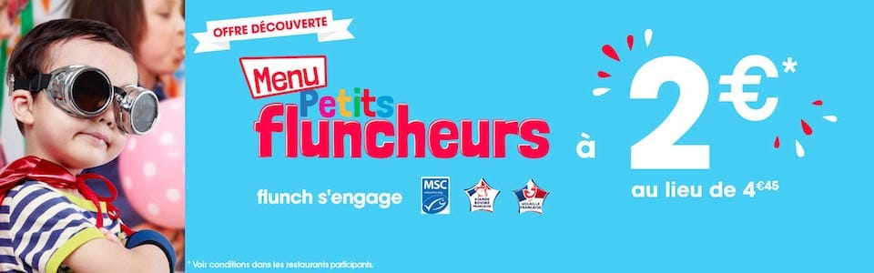 menu petits fluncheurs a 2 euros