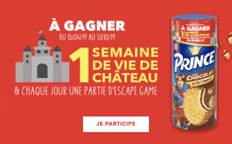 Jeu Prince de LU 2019 - princedelu.fr