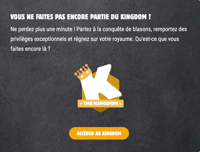 programme de fidelite burgerking kingdom