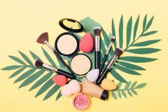 palette de maquillage
