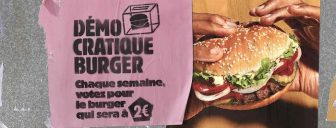 Participez a l'operation DEMOCRATIQUE BURGER de BURGER KING