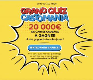 Participez au Grand Quiz Castomania