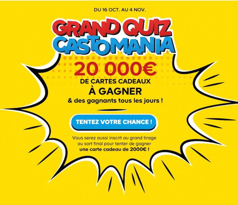 Participez au Grand Quiz Castomania
