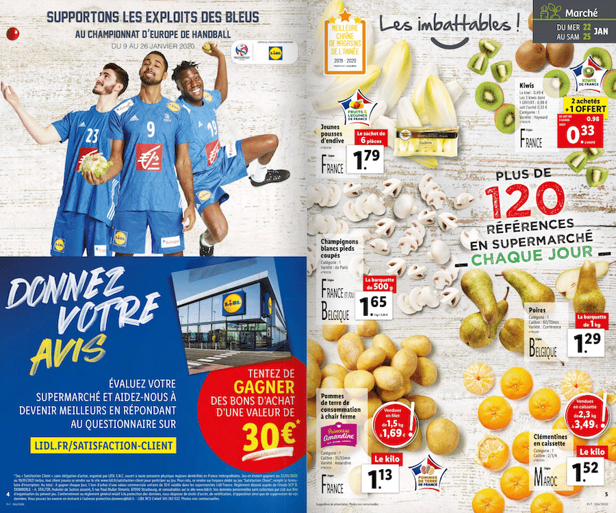 lidl.fr/satisfaction-client – jeu satisfaction Client Lidl 2020