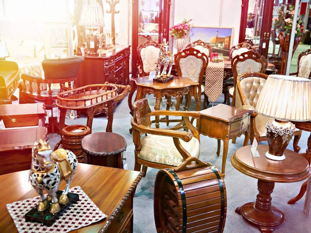 décoration vintage : salle à manger