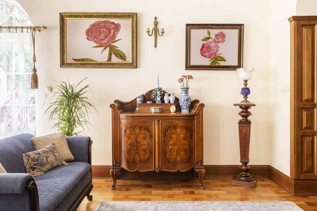 decoration vintage : salon
