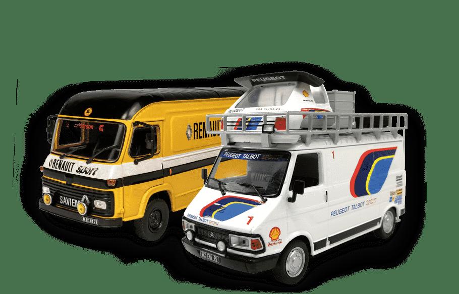 Altaya Rallye - collection de miniatures d'assistance rallye