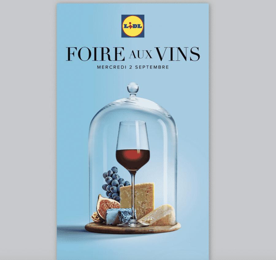 foire aux vins Lidl 2020