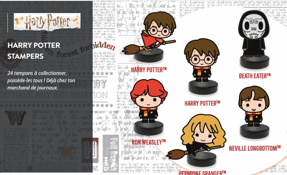 tampons Harry Potter stampers sur altaya.fr