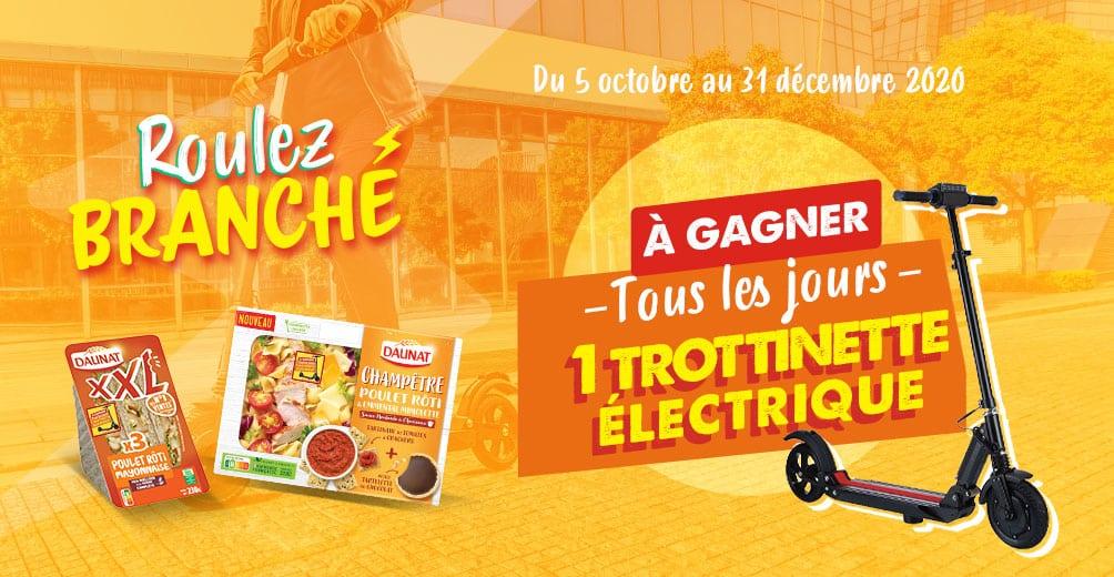 Jeu Daunat Trottinette électrique sur www.jeudaunat.fr