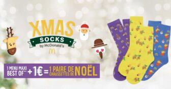 chaussettes McDo