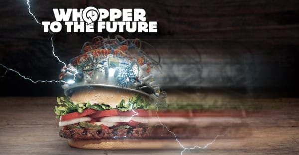 Burger King Whopper to the future